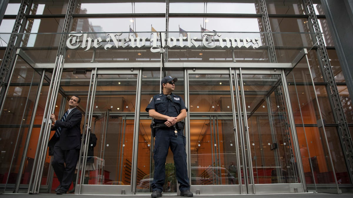 Trump Justice Dept. seized phone records of 4 NYT reporters 2
