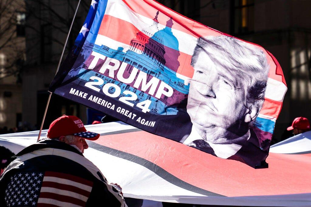 Talk of Trump 2024 run builds as legal pressure intensifies 2