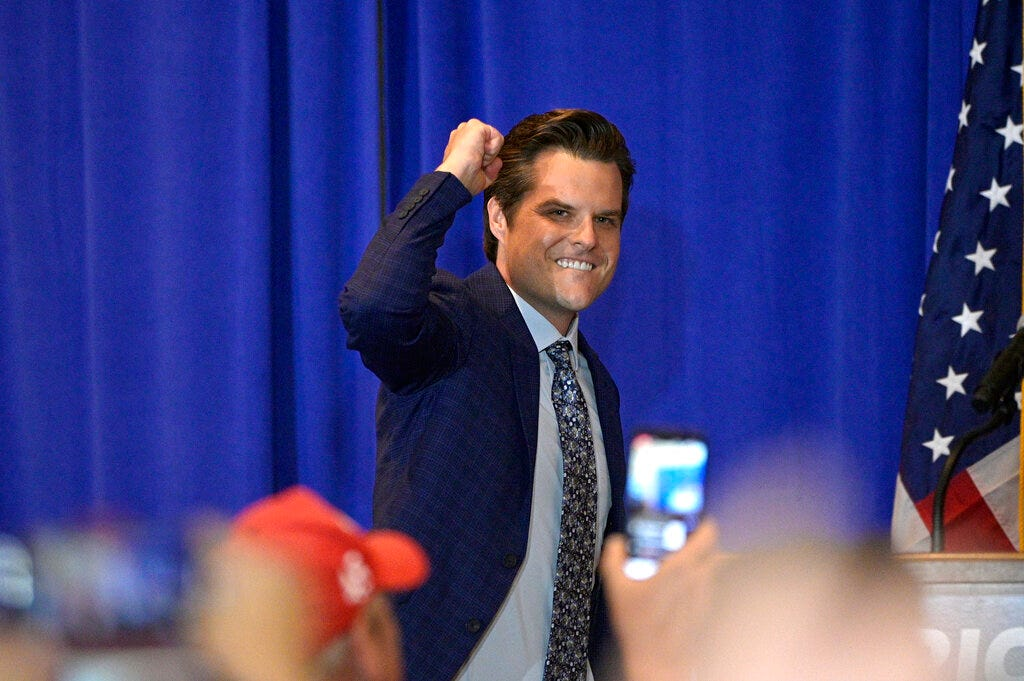 Feds reportedly investigating whether Matt Gaetz obstructed justice 2