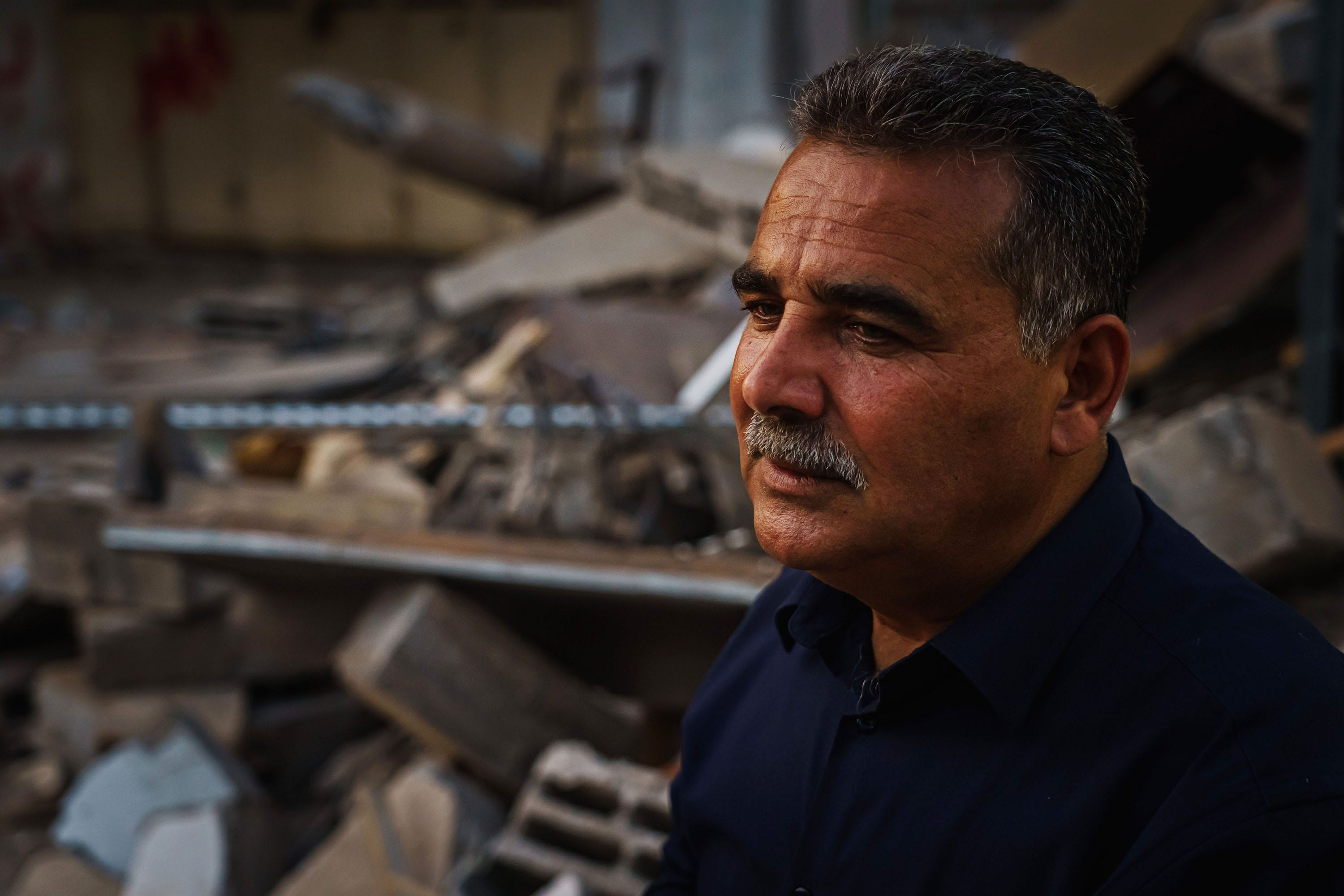 He watched 2 missiles destroy his bookshop. 'It was like I had my child in there' 2