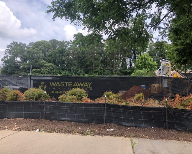 Construction is under way that will give a total remodel to the McDonald's on Tiger Boulevard in Clemson.