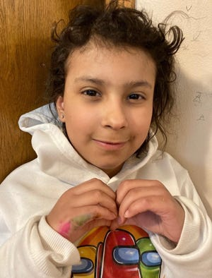 Valerie, age eight, from Waukesha, is a Make-A-Wish recipient who wants a playhouse this summer. She currently suffers from neuroblastoma, a type of cancer.