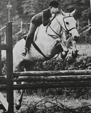 Ashton Graham on Shenandoah Waterford Large Pony Hunter Champion Tryon Horse Show.