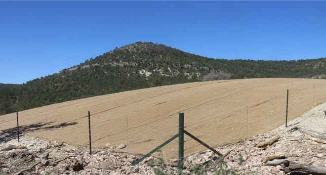 Remediation of the Georgetown Mines Site in the Gila National Forest completed May 20, 2021 to protect visitors from potential hazards.