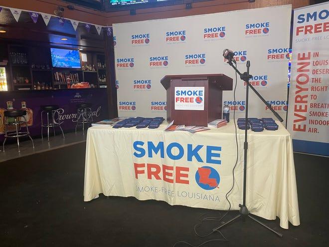 Smoke Free Louisiana at Sand Bar in Shreveport