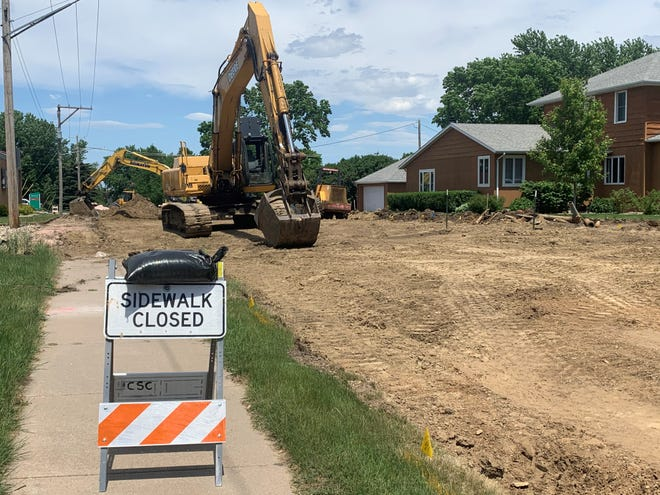 Iowa Avenue from 6th Street to 10th Street will be under construction this summer.