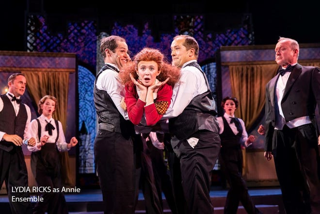"""A presentation of """"Annie"""" is performed at the Tuacahn Center for the Arts from now through July 10. Tickets start between $32 and $45."""