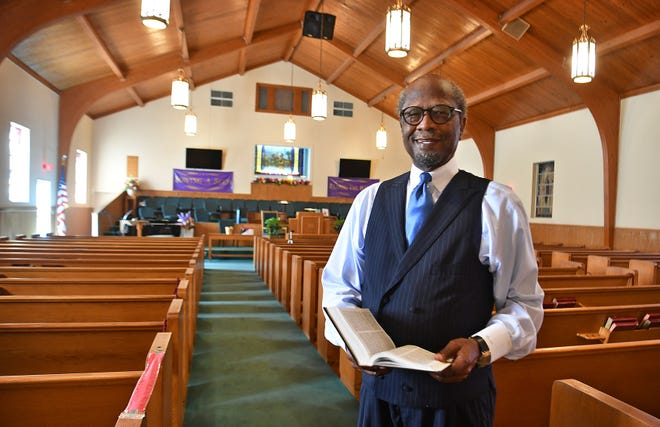 Pastor Robert M. Castle leads the Mount Pleasant Baptist Church which marks its 130th anniversary this year. Pastor Castle took over the duties after his grandfather, Robert L. Castle,  pastored the church from 1942 to 1974.