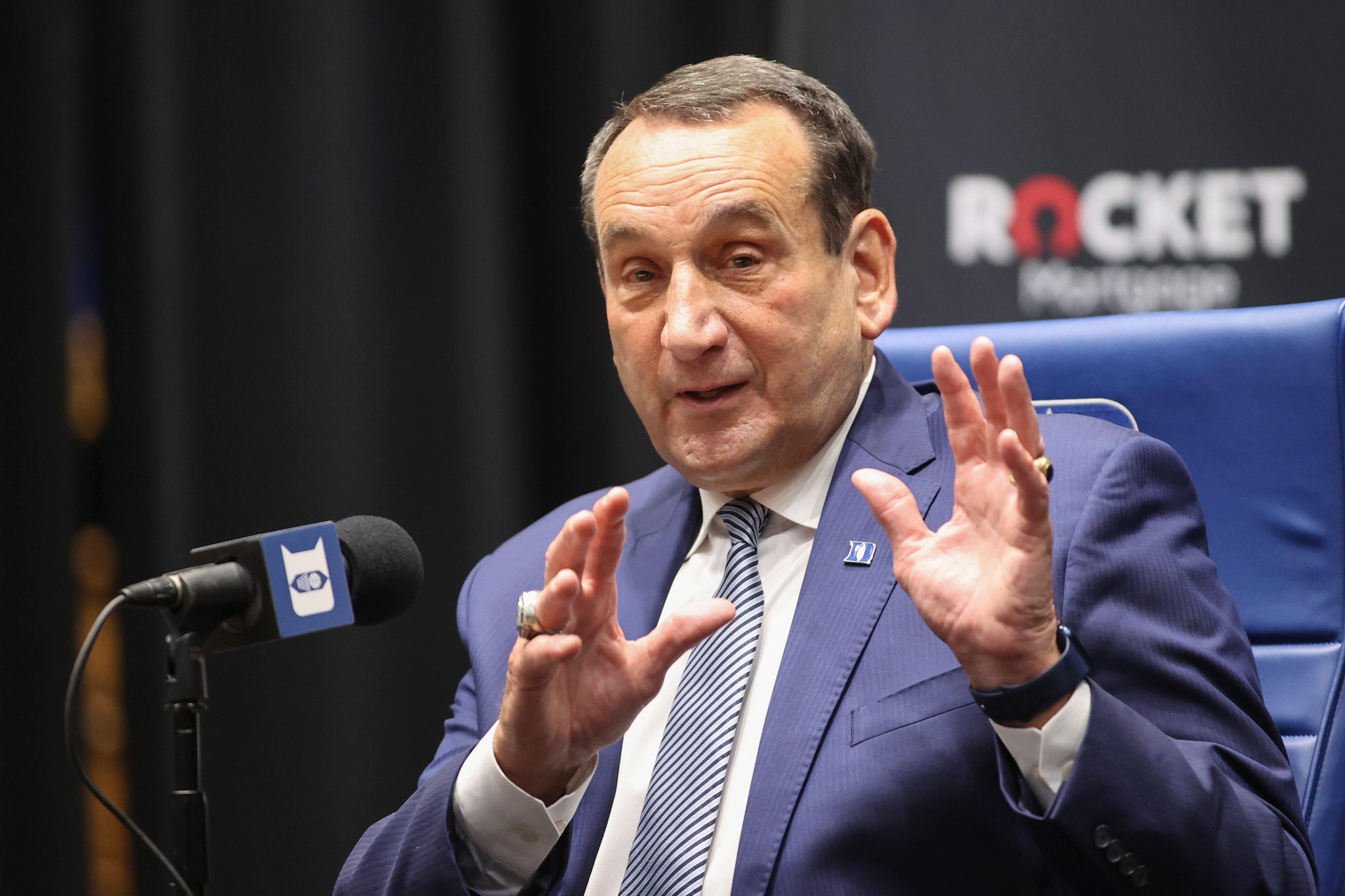 Coach K says retirement was family decision years in the making