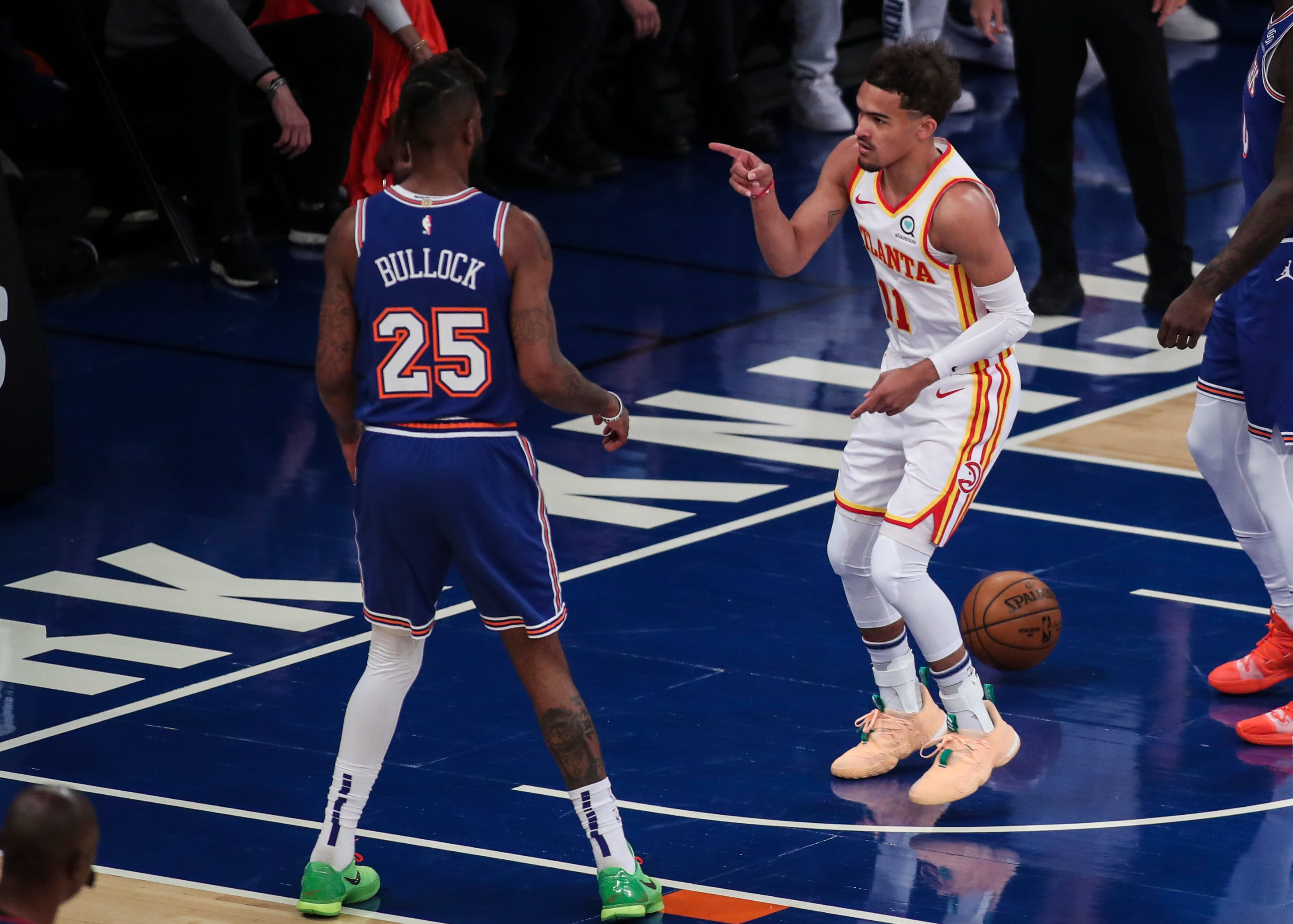 Hawks eliminate Knicks behind another big game from Trae Young