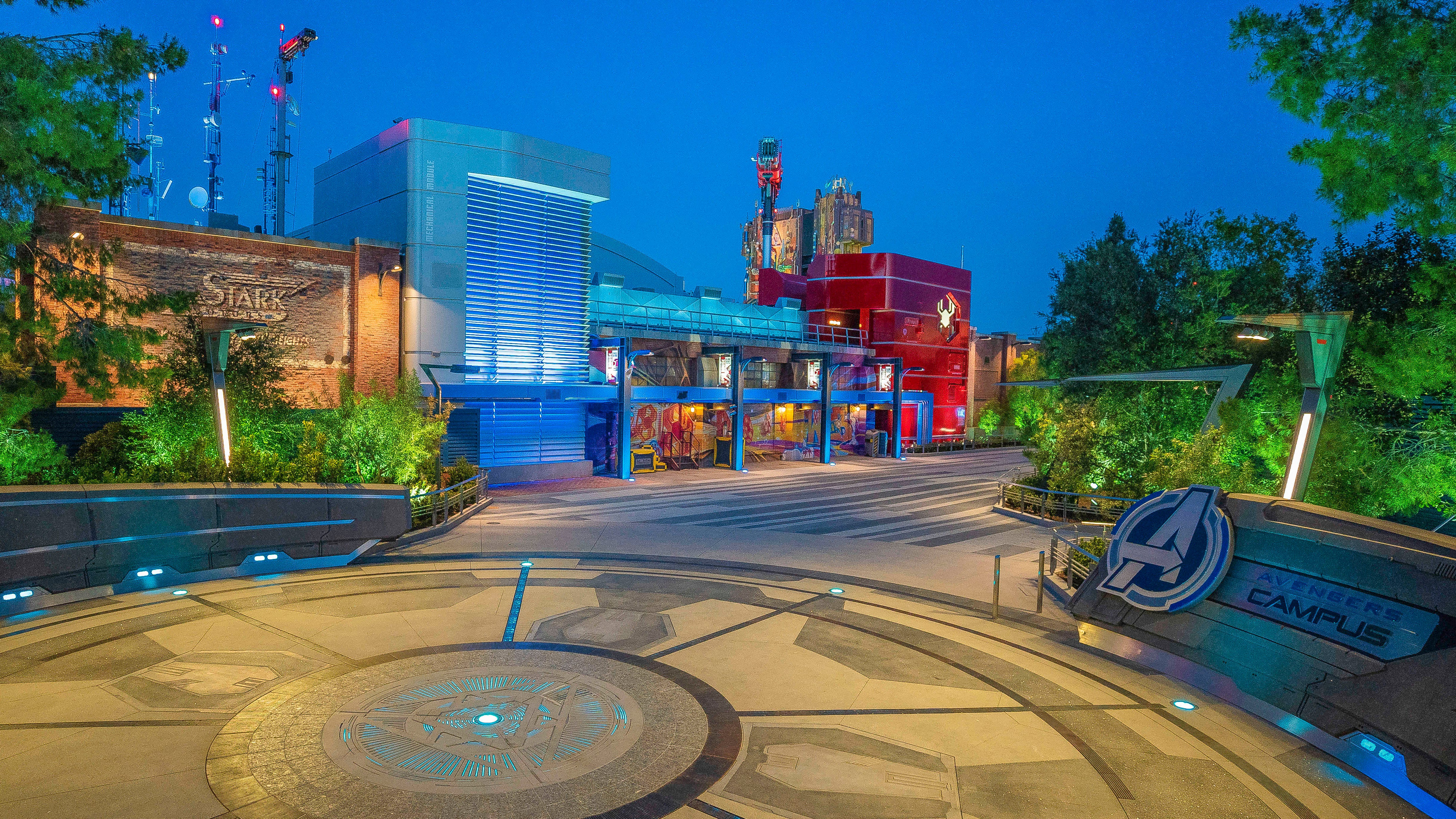 Disneyland's Avenger's Campus opens with a new Spider-Man attraction