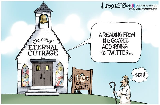 The church of eternal outrage