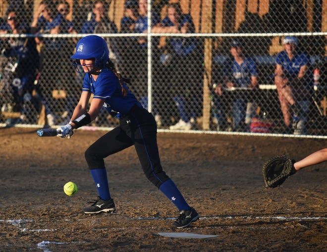 Avery Fricke reached base twice and drove in two runs in No. 4 Collins-Maxwell's 12-0 victory over Colo-NESCO June 3 at Stan Vigness Field in McCallsburg. Fricke is part of a large group of young players making an immediate impact for the Spartans.