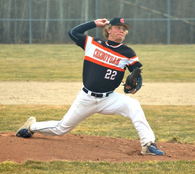 Senior pitcher Caleb Williams and the Cheboygan varsity baseball team will be looking to capture a district title in Marquette on Saturday. Cheboygan will face off with Escanaba in a 12 p.m. Division 2 semifinal matchup.
