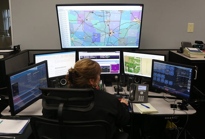 This dispatcher for the 911 center at the Pickaway County Sheriff's office in Circleville, as well as her counterparts across the state and hundreds of others in various government jobs, could essentially wipe her name and other information, as well as those of her spouse and children, from public records in Ohio under bill before Gov. Mike DeWine.