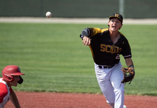 Wooster's Tyler Chumita batted .465 while playing one of the most important positions in the field for the Scots.