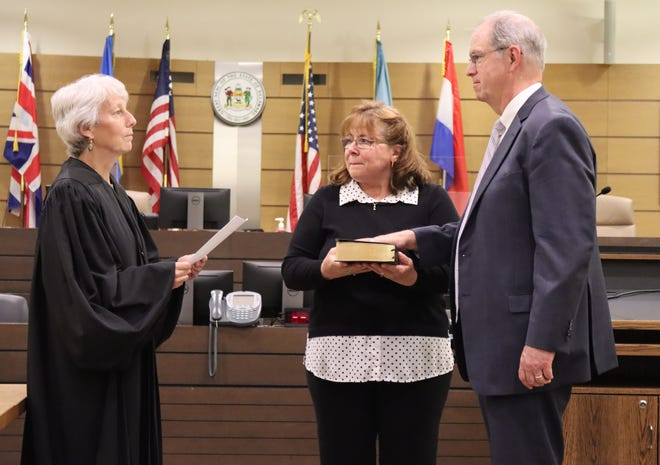 Kevin O'Connell was sworn in as chief defender of the Delaware Office of Defense Services on June 2 during a small ceremony at the Leonard L. Williams Justice Center in Wilmington.