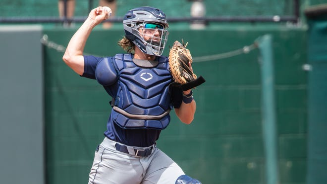 University of North Florida catcher Tanner Clark will be the head baseball coach at Umatilla next season, a job he landed while still playing for the Ospreys.