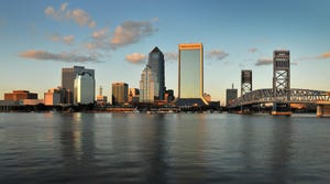 Wells Fargo Center is shown in downtown Jacksonville in 2011.