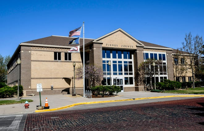 The Finney County Administrative Center is located in the 300 block of North Ninth Street.