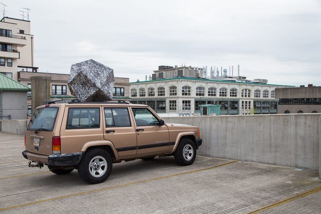 A Meteorite Strikes New Bedford Mobile Installation