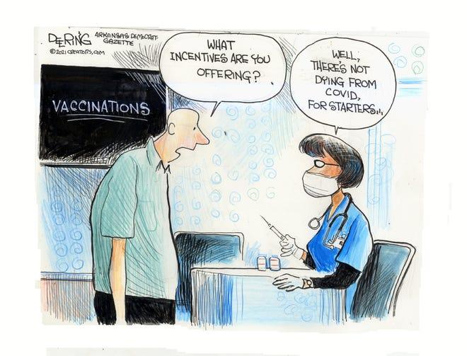 Today's editorial cartoon (June 6, 2021)