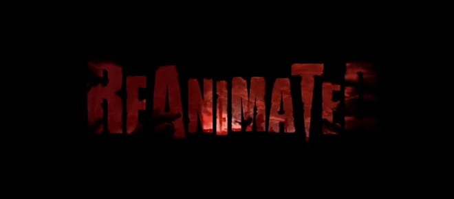 """The title card for the web series """"Reanimated,"""" which is the brainchild of local filmmaker John Vincent."""