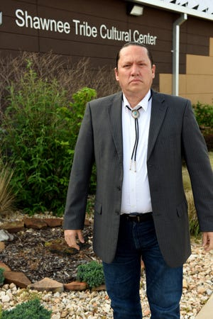 Shawnee Tribe of Oklahoma Chief Ben Barnes leads a nation of more than 3,100 people. A federal dataset recorded the population of the Miami-based tribe as zero, leading to the minimum CARES Act relief payment and spurring a federal lawsuit.