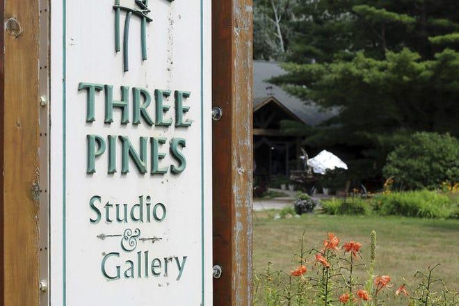 Three Pines Studio is located in Cross Village.