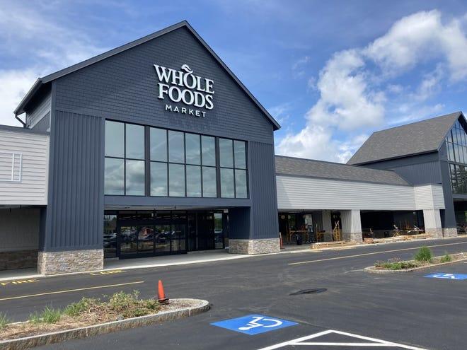 Whole Foods is getting ready to open June 25 in Portsmouth on Woodbury Avenue.