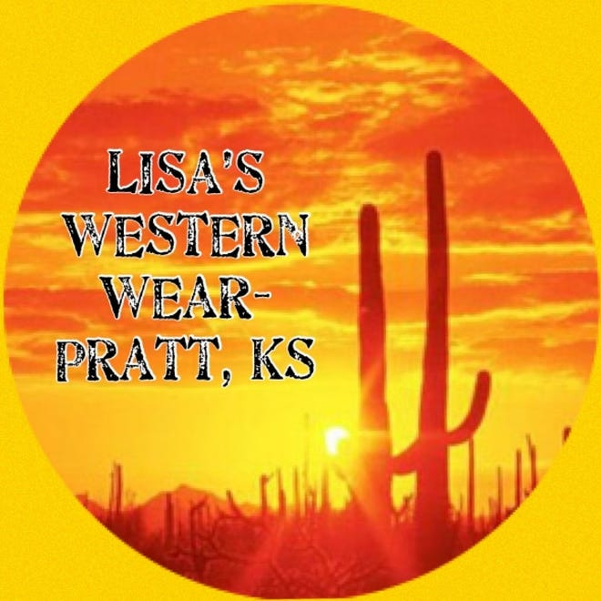 Lisa's Western Wear logo is visible on the businesses Facebook page by the same name.