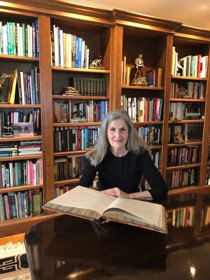"""Local author Lyn Fenwick, Macksville, spoke at the Ida Long Goodman Memorial Library in St. John on June 8, and shared news that her recently published book, """"Prairie Bachelor"""" has been named a Notable Book about Kansas for 2021 by the State Librarian of Kansas."""