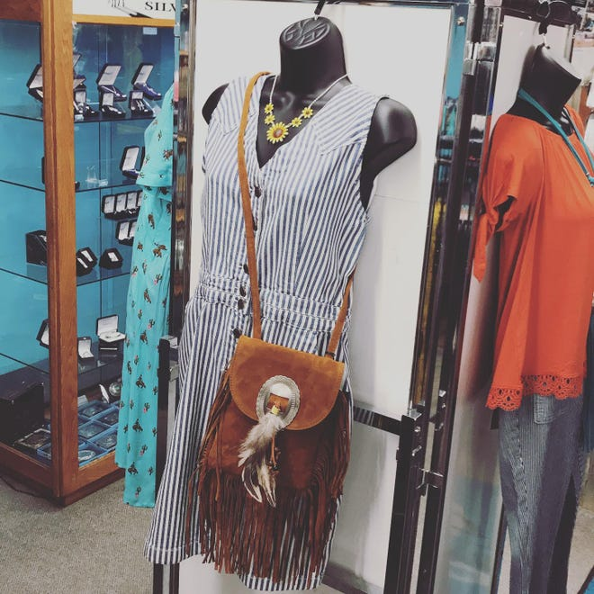 A wide variety of clothing, accessories and boots, plus much more can be found at Lisa's Western Wear in Pratt.