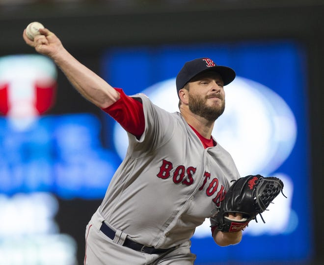 Red Sox reliever Ryan Brasier was struck in the head by a line drive during a simulated game in Fort Myers.