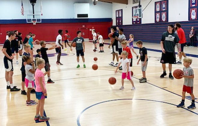Kids sharpen their basketball skills at the College of the Siskiyous basketball camp, which is making a return later this month.