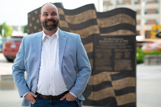 Brett Daniel Kell is one of the three candidates running for the Topeka City Council's District 5.