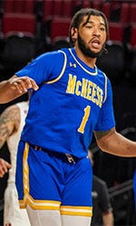McNeese State's Jeremy Harrell will join the Washburn men's basketball team next year as a graduate transfer.