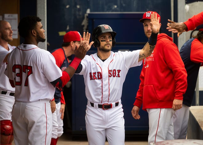 The WooSox' Michael Chavis homered for the third time on this road series and drove in four runs Saturday night at Syracuse.