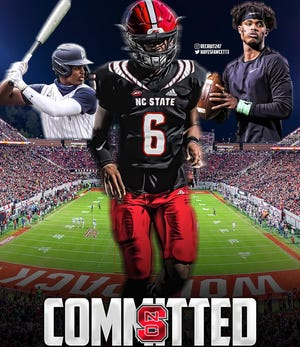 Four-star 2022 Pace Academy (Ga.) quarterback M.J. Morris committed to N.C. State football on June 3. He expects to play baseball at the school, too.