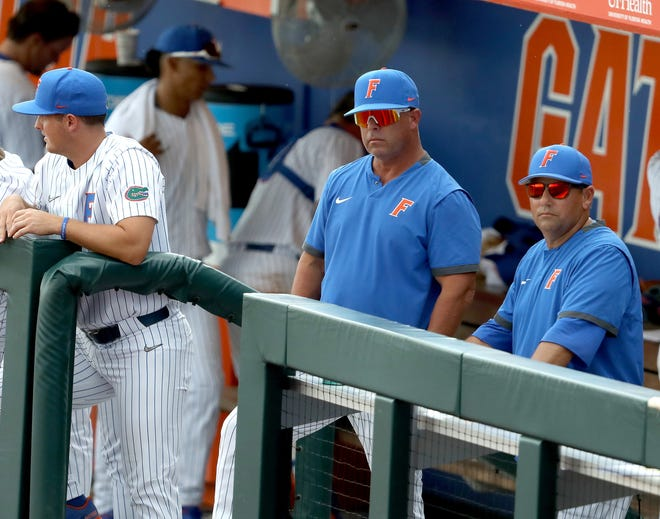 Florida coach Kevin O'Sullivan and staff await what the MLB draft will do to his current and future roster.
