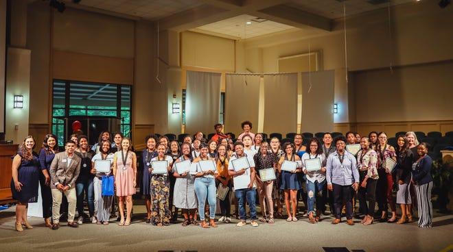 The Take Stock in Children senior awards ceremony in 2019.