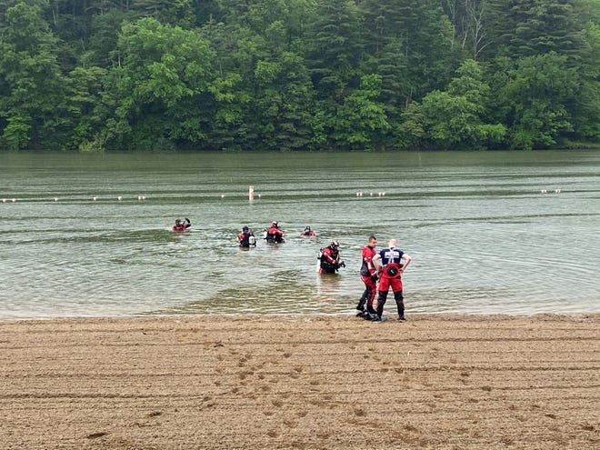 You don't get a dive team together without some time in the water.