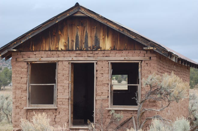 This abandoned old building is the Ritz compared to some of the hunting camps Luke has spent time in.