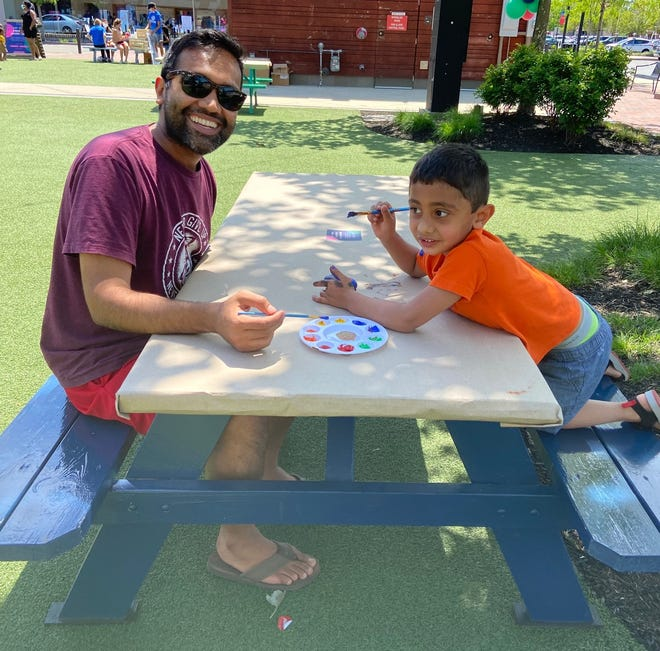The Boys and Girls Clubs of Stoneham and Wakefield was recently at Market Street painting kindness rocks and rainbows for their pride garden.