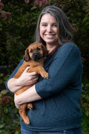 Ross County Humane Society executive director Jenn Thomas wanted to be a veterinarian or something to do with animals and medicine.