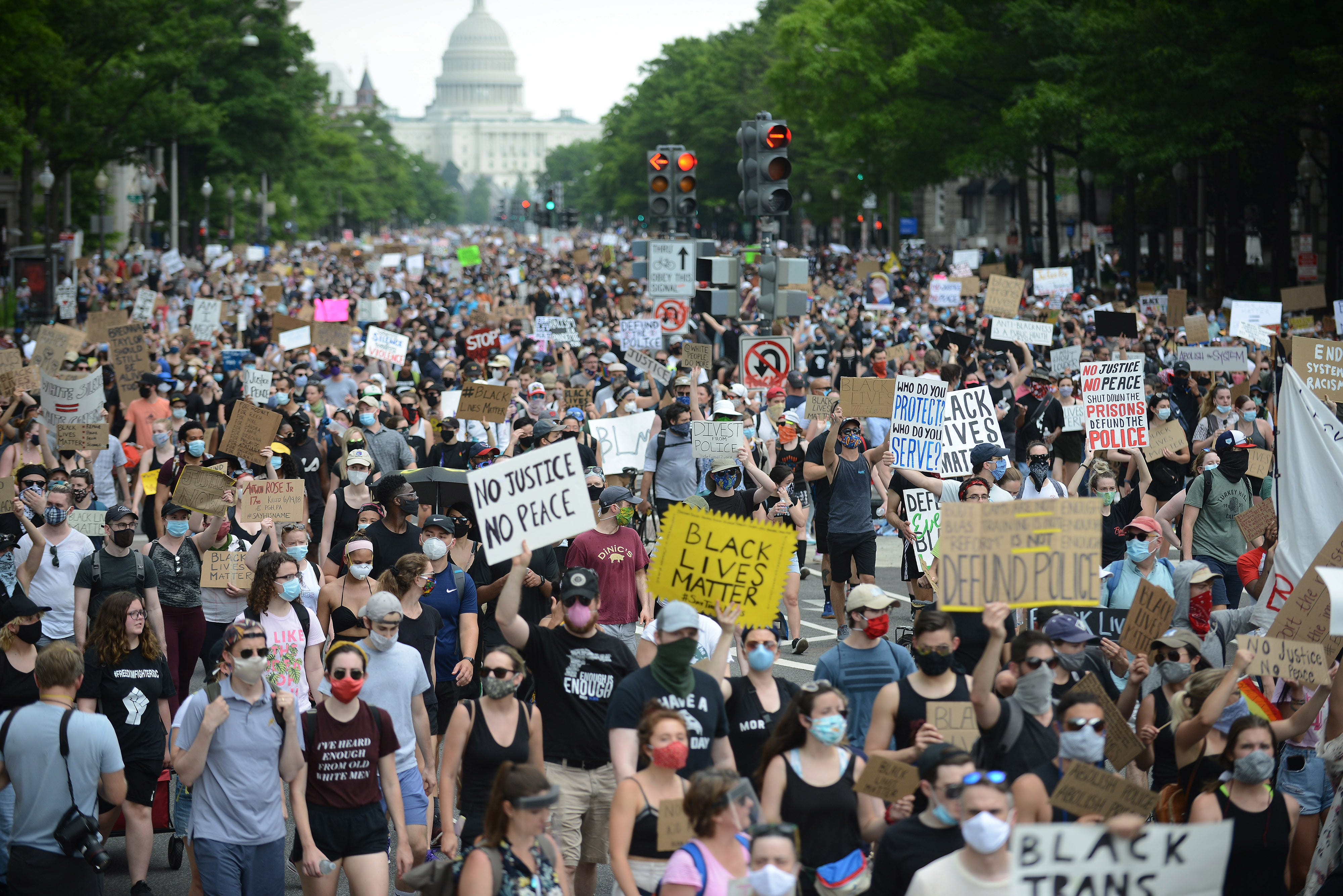Protests have resulted in more police transparency and accountability. But not for the feds 2