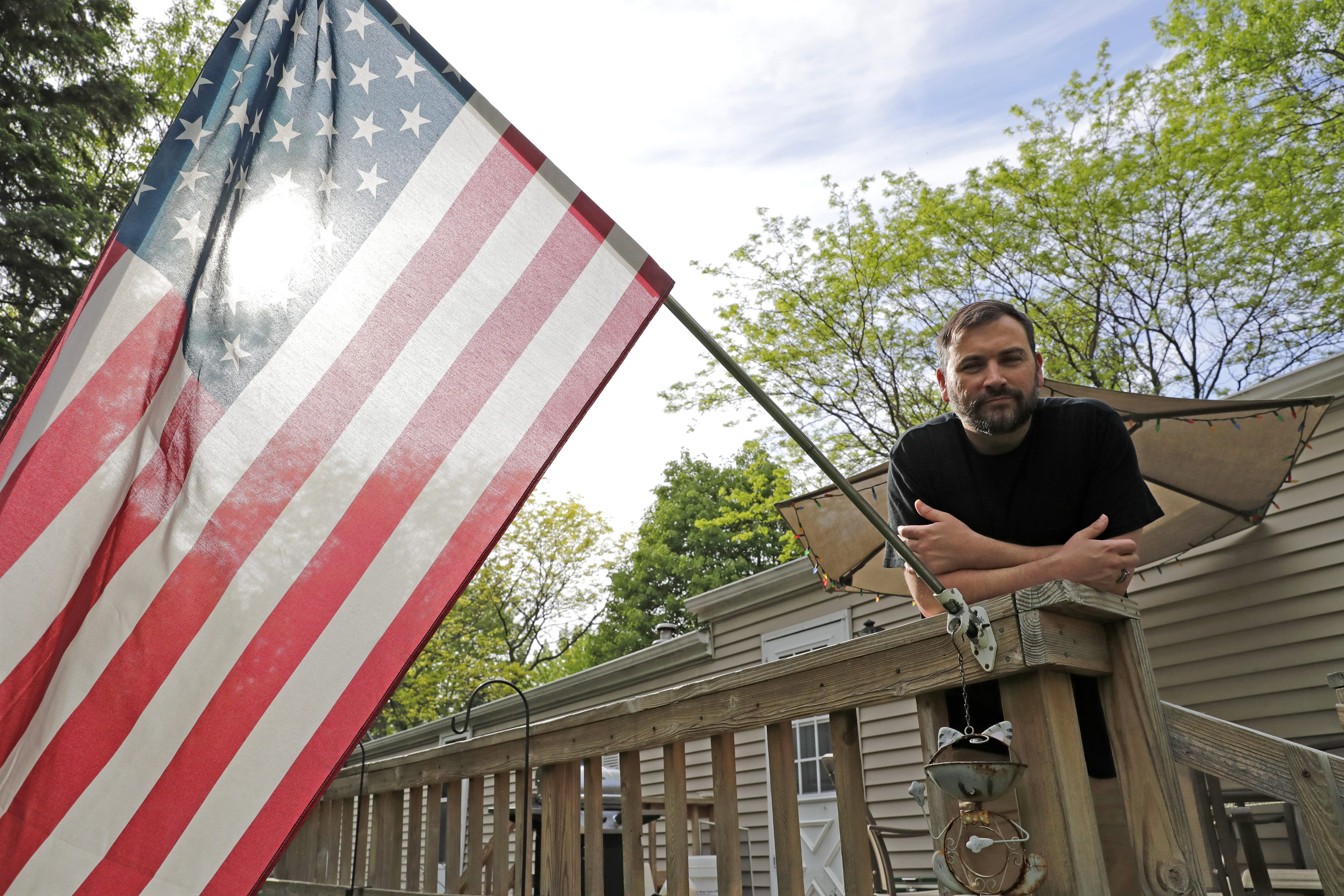 Chuck Andrews lives with a roommate in a rented trailer home in Menasha. The 35-year-old has been looking for more than two years for an affordable apartment in hopes of spending more time with his 2-year-old daughter, but credit problems and a modest income have made the search difficult.