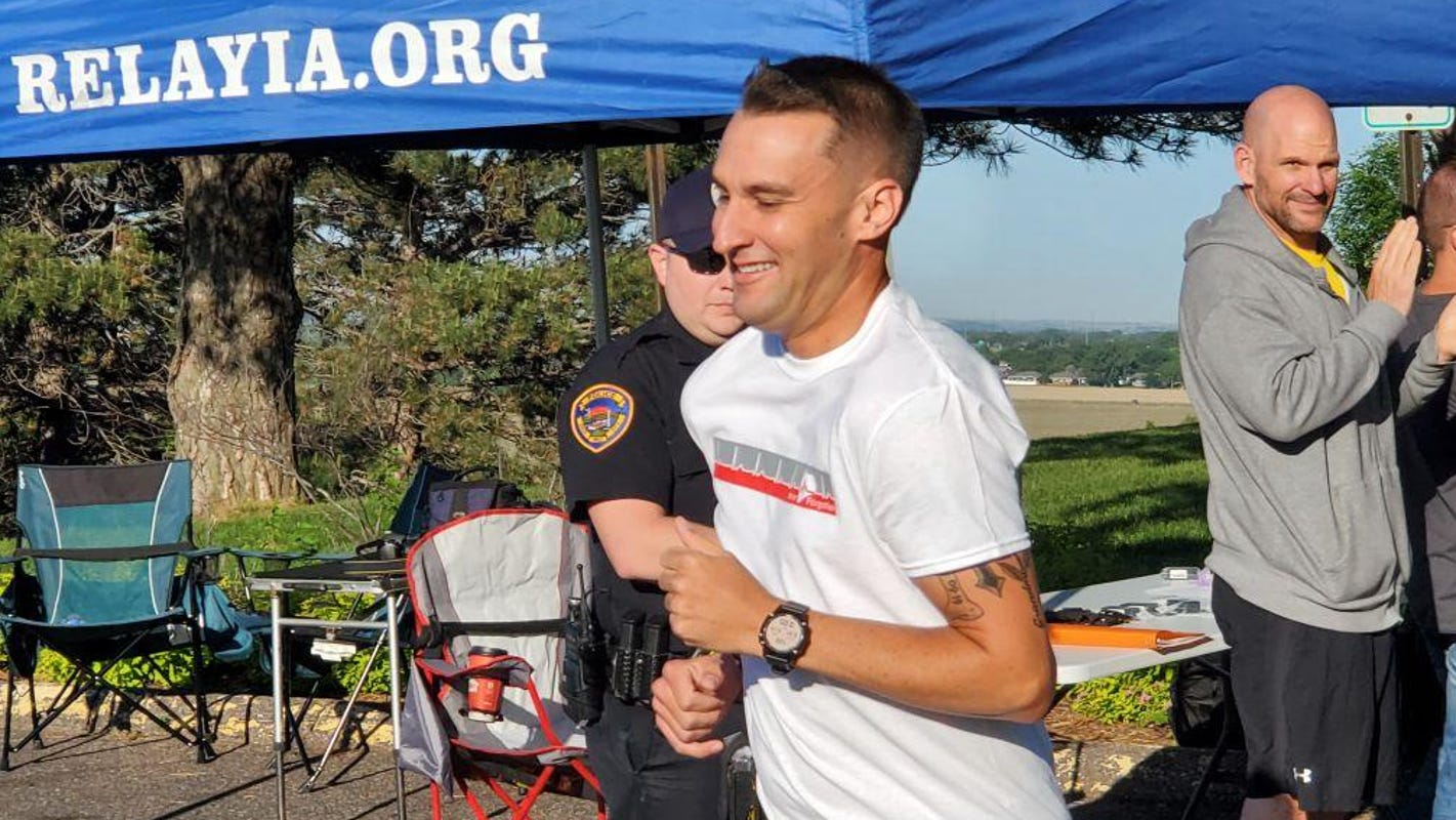 Anamosa correctional officer running across Iowa in honor of staff killed in attack
