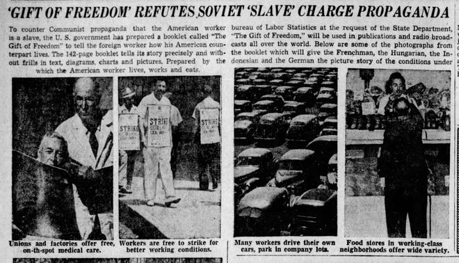 This appeared in the June 1, 1949 issue of the Lancaster Eagle-Gazette.
