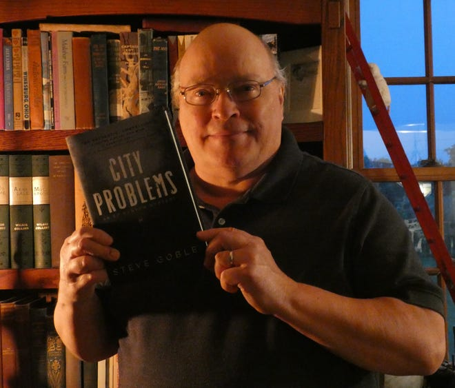"""Ashland resident Steve Goble's fifth novel, """"City Problems,"""" will be released in July."""
